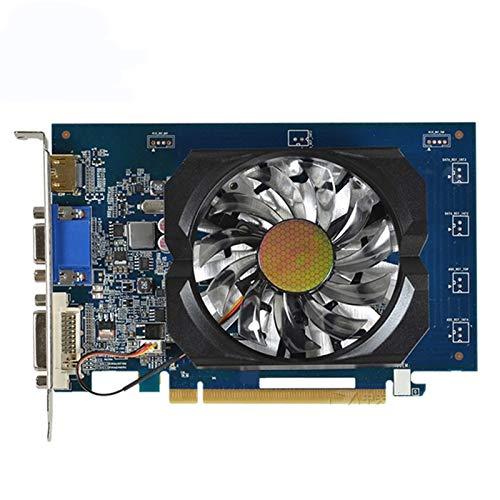 RTYU Tarjeta de video para Gigabyte GT 730 1 GB tarjeta de video NVIDIA GT730 1 GB tarjetas gráficas GPU escritorio PC pantalla ordenador juego tarjeta gráfica