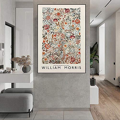 HNZKly William Morris peintures Vintage Agrumes Affiche...