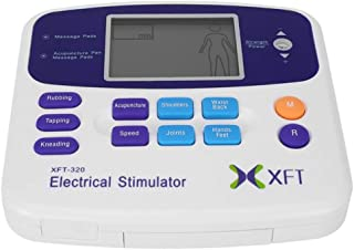 Wanforjewellery Xft-320 Cuerpo Cuidado de la Salud masajeador Dual Tens Digitale Terapia acupuntura Massageador Dispositivo estimulador