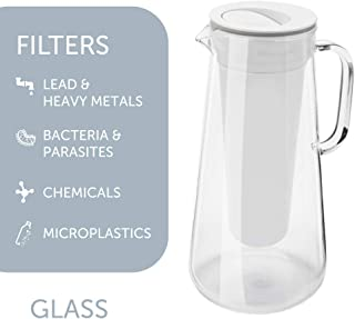 LifeStraw Home Water Filter Pitcher Tested to Protect Against Bacteria, Parasites, Microplastics, Lead, Mercury, and a Variety of Chemicals