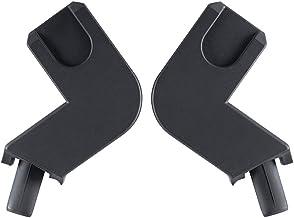 gb Gold - Adaptador para Portabebés y Capazo Cot to Go, para sillas de paseo gb Qbit y Qbit+, Negro
