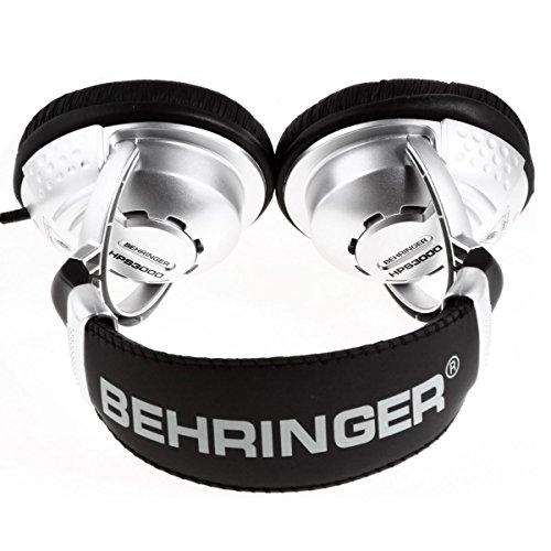 ベリンガーヘッドフォン密閉型コバルトカプセル搭載3.5mm6.3mm対応変換アダプター同梱HPS3000