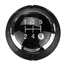 ZpovLE 5/6スピードカーギアシフトノブハンドボール、トヨタカローラヴェルソオーリスアイゴヤリスアベンシスに適合
