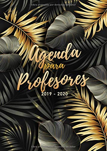 Agenda para Profesores 2019/2020: Formato A4 | Cuaderno del...