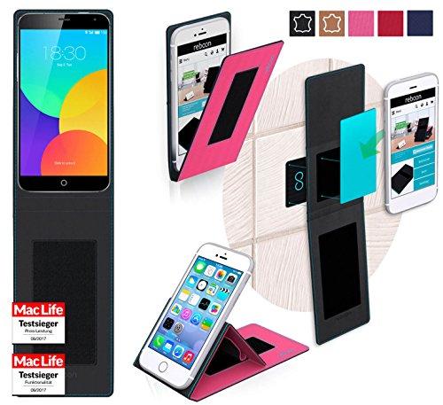 Hülle für Meizu MX4 Pro Tasche Cover Hülle Bumper | Pink | Testsieger