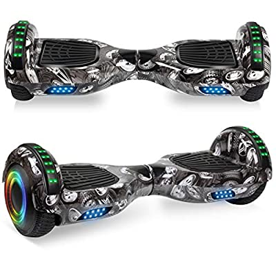 """VEVELINE Hoverboard for Kids 6.5"""" Two-Wheel Self Balancing Hoverboard"""