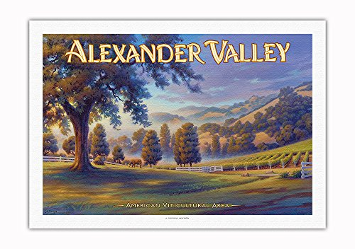 Pacifica Island Art - Alexander Valley Wineries - Robert Young Estate Winery - North Coast AVA Viney