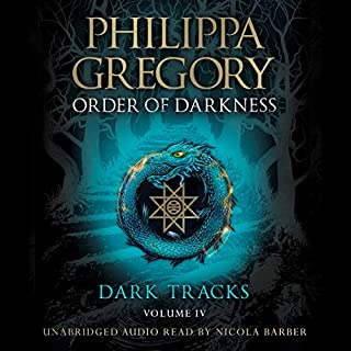 Dark Tracks                   By:                                                                                                                                 Philippa Gregory                               Narrated by:                                                                                                                                 Nicola Barber                      Length: 7 hrs and 41 mins     1 rating     Overall 5.0
