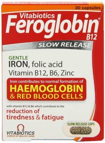 Vitabiotic Feroglobin-b12 30 Capsules - CLF-VIT-FER30 by Feroglobin
