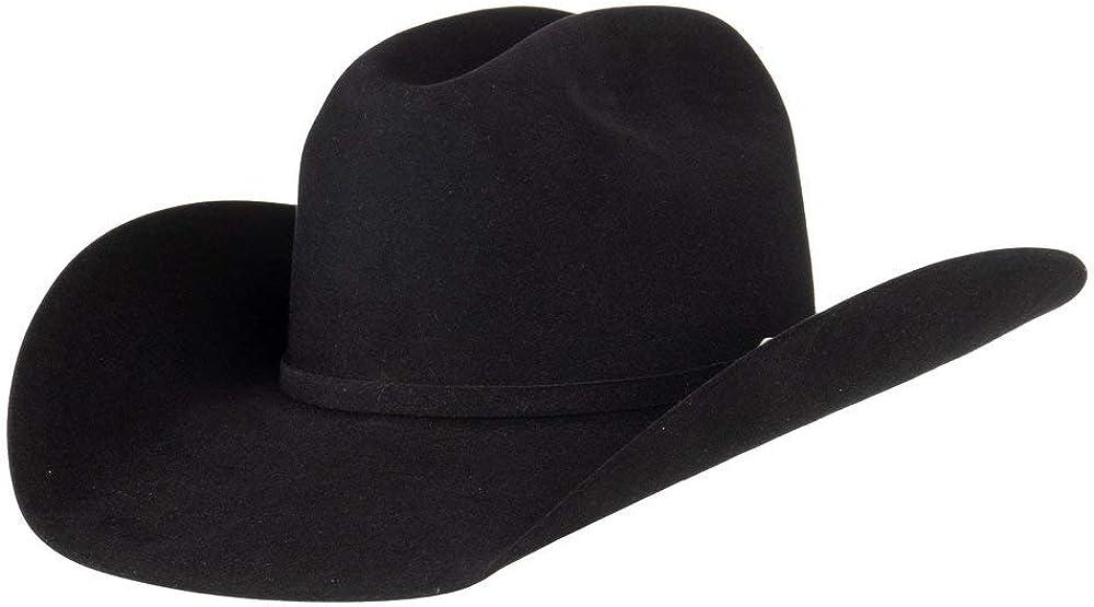NRS Mens 7X Black All items free shipping Rancher Crease 1 Cowboy Brim 5% OFF Felt Hat 4