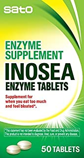 Sato Inosea Enzyme Tablets, 50 Count