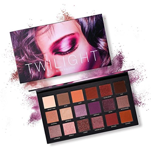 URSING 18 Farbe Perle Glitter Lidschatten Pulver Lidschatten Palette Matt Lidschatten Kosmetik Make-up Eyeshadow Augen Schminken Augen Schatten Beauty Make-up Palette (B)