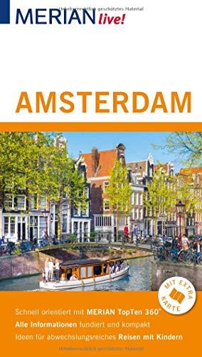 MERIAN live! Reiseführer Amsterdam: Mit Extra-Karte zum Herausnehmen