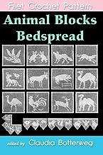 Animal Blocks Bedspread Filet Crochet Pattern: Complete Instructions and Chart