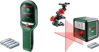 Bosch Stud Finder UniversalDetect (Maximum Detection Depth Wooden Studs/Live Cable/Cetal: 25/50/100 mm, in Cardboard Box)...