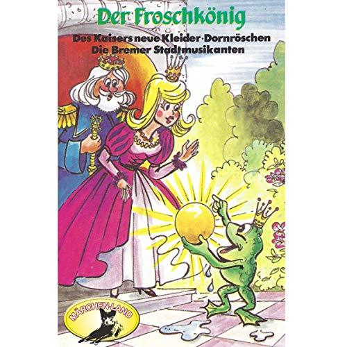 『Der Froschkönig und weitere Märchen』のカバーアート