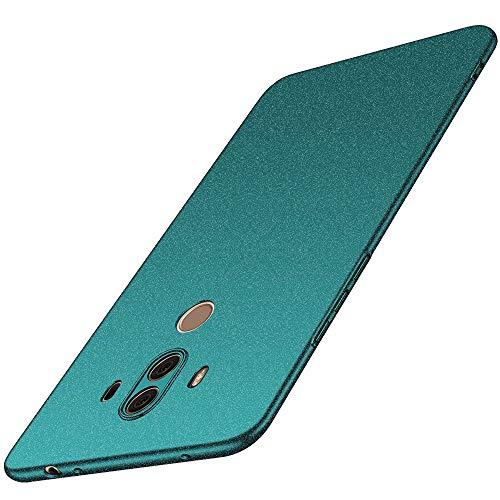 anccer Huawei Mate 10 Pro Hülle, [Serie Matte] Elastische Schockabsorption und Ultra Thin Design (Kies Grün)