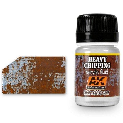 Ak Interactive Ak00089 - Heavy Effects Acrylic Fluid