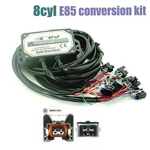 Kit de Conversion Ethanol E85 8-cylindres (D Connecteur-Bosch EV1)