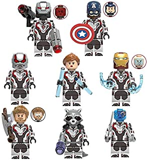HANGHANG Mini Super Heroes Action Figures Avengers Figures for boy Girl