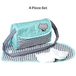 Image of Adora Zig Zag Diaper Bag...: Bestviewsreviews