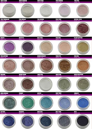 Mineral Eye-shadow Mineral Makeup Eye-Shadows Loose Shimmer Mica minerals eyeshadow Pigments Makeup For Girls Eye Makeup teen girl makeup Pink eyeshadow shimmer eyeshadow minerals eyeshadow