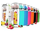 Best Water Bottle Infusers - Fruit Infuser Water Bottle 32oz Willceal- Durable, Large Review