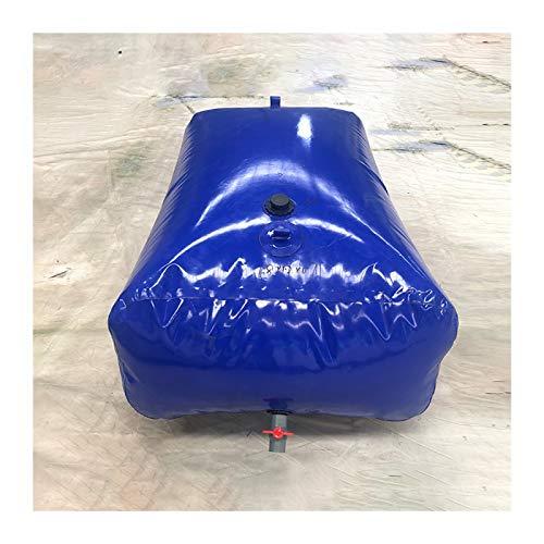Almacenamiento de agua Contenedor de Agua Vejiga de Agua de PVC sin BPA Alta Capacidad Buen Sellado al Aire Libre Patio Tamaño Personalizado ZLINFE (Size : 3000L/2.5x1.5x0.8M)