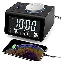 Image of 【Upgraded】 Digital Alarm...: Bestviewsreviews