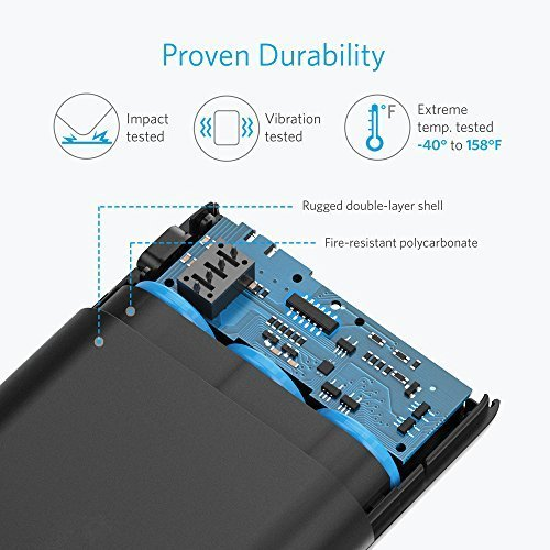 Anker PowerCore 10000mAh externer Akku – die kleinere und leichtere Powerbank - 8