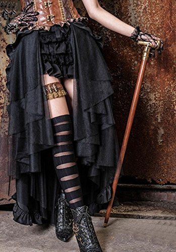 Dark Dreams Gothic Mittelalter LARP Rock Black Mamba - 5