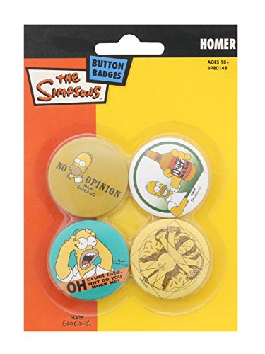 The Simpsons (Homer) Badge Pac