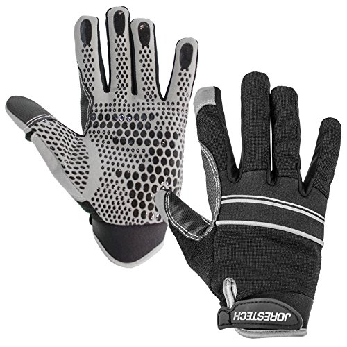 JORESTECH Work Gloves Multipurpose (Medium, Black)