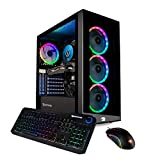 iBUYPOWER Gaming PC Computer Desktop Element 9260 (Intel Core i7-9700F 3.0Ghz, NVIDIA GeForce GTX 1660 Ti 6GB, 16GB DDR4, 240GB SSD, 1TB HDD, Wi-Fi & Windows 10 Home) Black