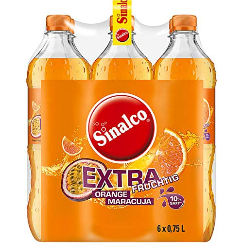 Sinalco Orange-Maracuja, 6er Pack, 6 x 0,75 l EINWEG