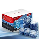 (12-Pack) Automatic Toilet Bowl Cleaner - Toilet Bowl Bathroom Cleaner Tablets-Bathroom Toilet Tank Cleaner, Toilet Blue Clean Bubbles (Blue)