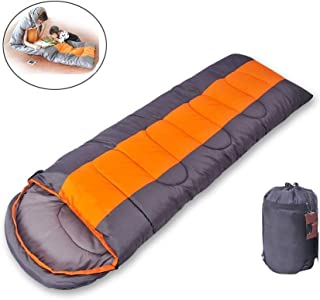 Anas Backpacking Sleeping Bag, Lightweight and Compact for Hiking and Camping, Ultralight Mummy Bag Design with Premium Insulation for 3 Seasons Includes