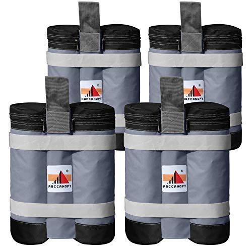 ABCCANOPY - Set di 4 sacchi per pesi per gazebo pop-up di qualità industriale, super resistenti