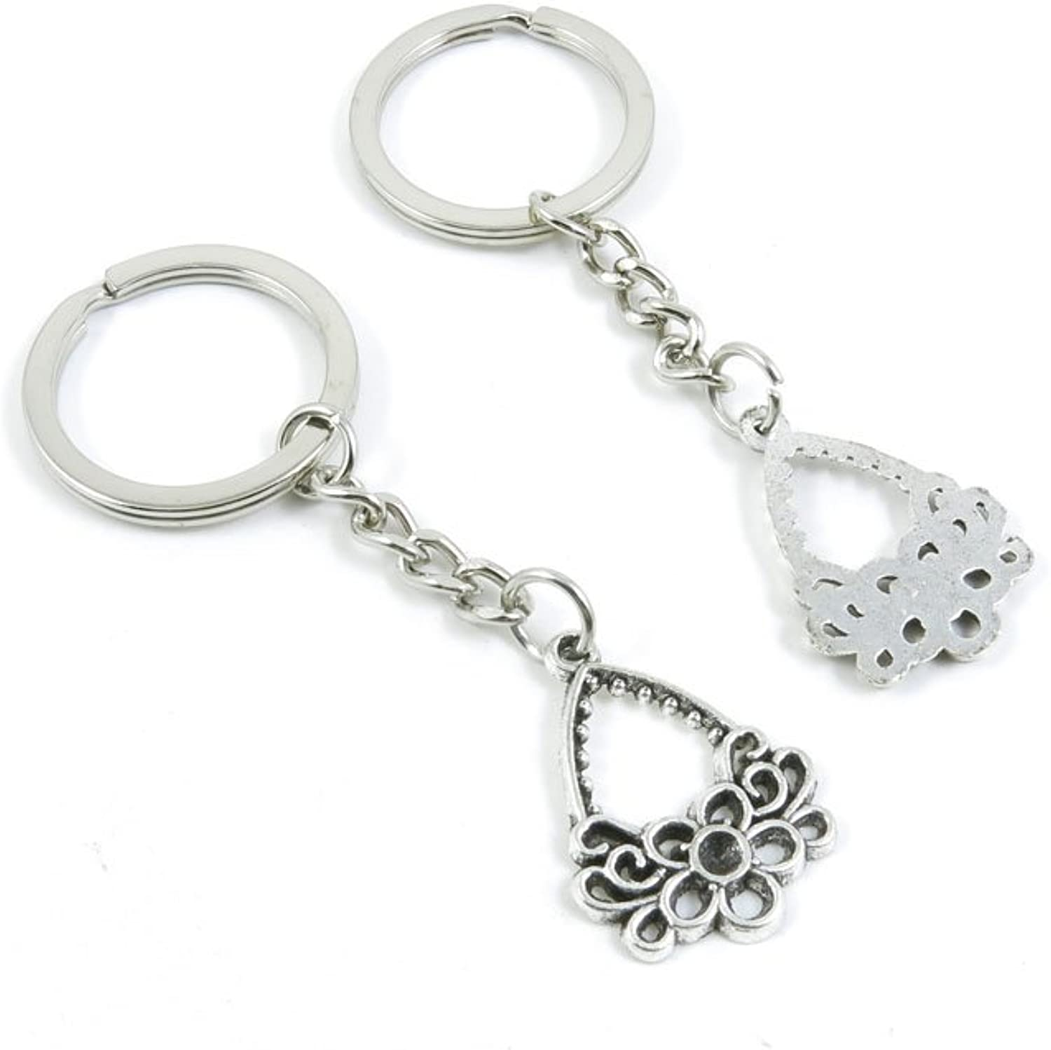 210 Pieces Fashion Jewelry Keyring Keychain Door Car Key Tag Ring Chain Supplier Supply Wholesale Bulk Lots W1VV6 Earring Basket Connector