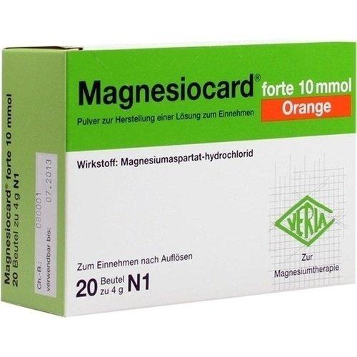 MAGNESIOCARD forte 10 mmol Orange Pulver 20St