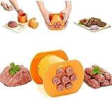 MMENG Embutidora de Carne Manual para embutidora, operada a Mano, Fresca en Cualquier Momento, Molde de extrusión, Herramientas de Cocina
