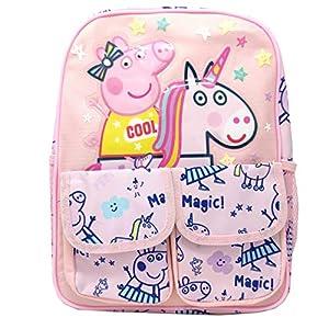 Mochila Escolar Grande Mochila Peppa Unicornio 33cm