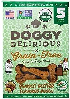 Doggy Delirious Organic Grain-Free Dog Treats, 5lb
