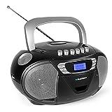 Blaupunkt B 110 BK tragbares Radio mit CD Spieler Kinder, Kassettenrekorder, Hörbuch Funktion,...