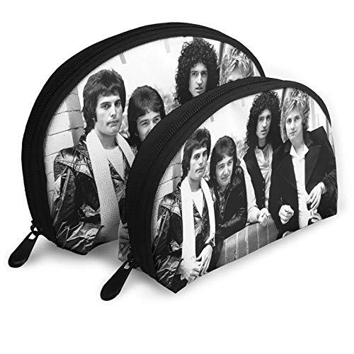 Band Tragbare Taschen Clutch Pouch Kosmetik Aufbewahrungstasche Täglich Kleinigkeiten Geldbörsen für Reisen, Outdoor-Aktivitäten