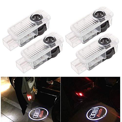 Cool Design Autotür Logo Projektion Licht Türbeleuchtung Willkommen Licht (AD-YH-4PAC)