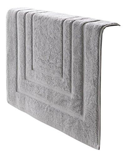De Witte Lietaer 195199 Tapis de Bain Coton Gris Clair 75 x 50 cm