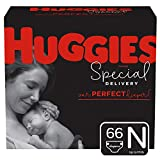 Huggies Special Delivery Hypoallergenic Baby Diapers, Size Newborn (up to 10 lbs.), 66 Count, Giga Jr. Pack