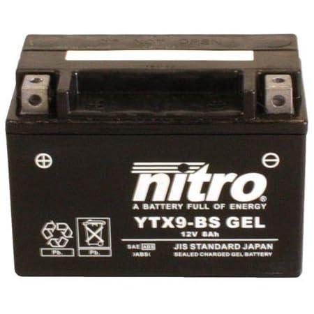 Batterie 12v 6ah Ytx7l Bs Gel Nitro 50614 Pantheon 125 Jf12 03 06 Auto