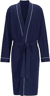 Men's Cotton Robe Plus Size Bathrobe Lightweight Spa Soft Sleepwear